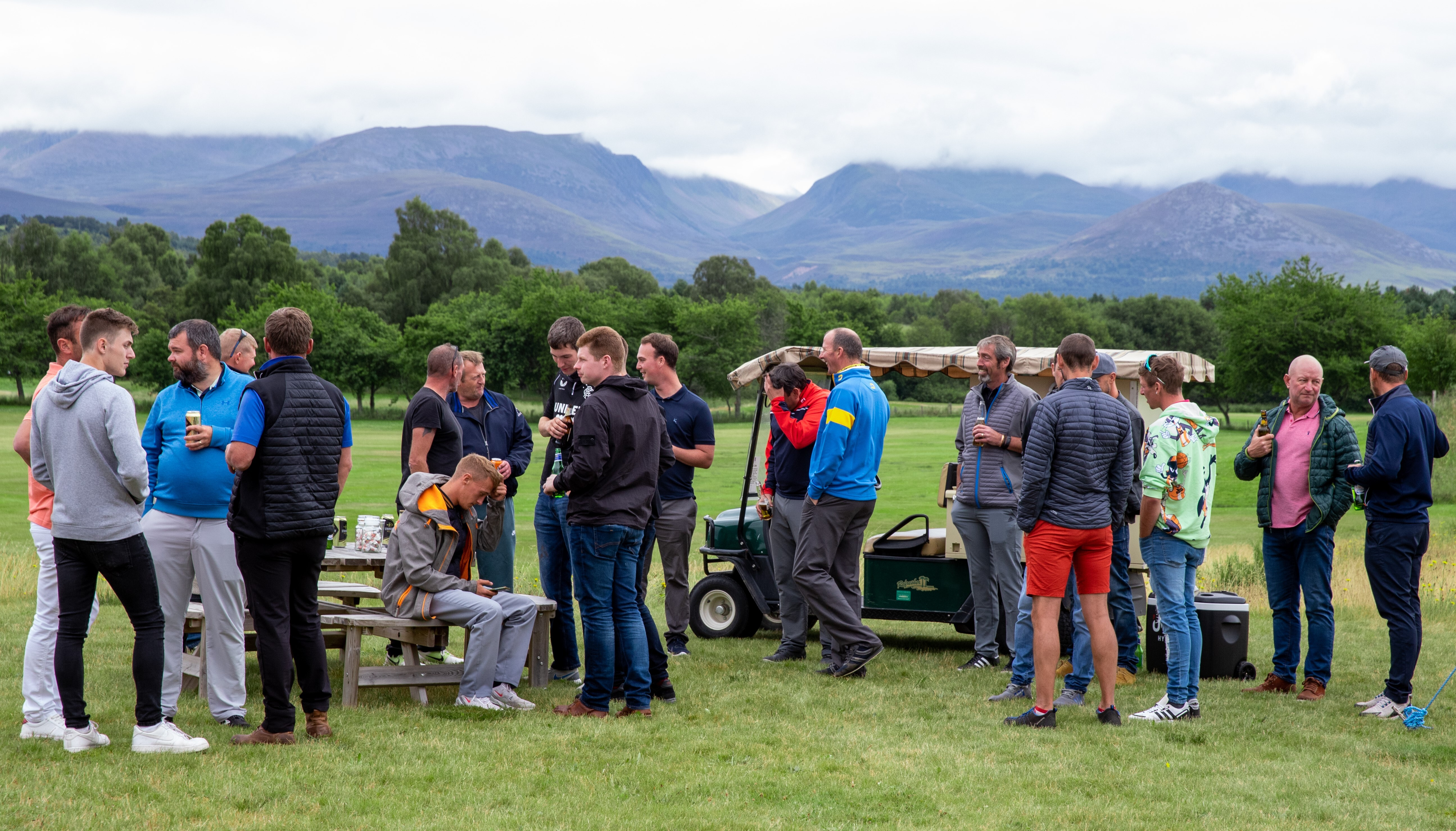 McGowan Event - Spey Valley Golf Course