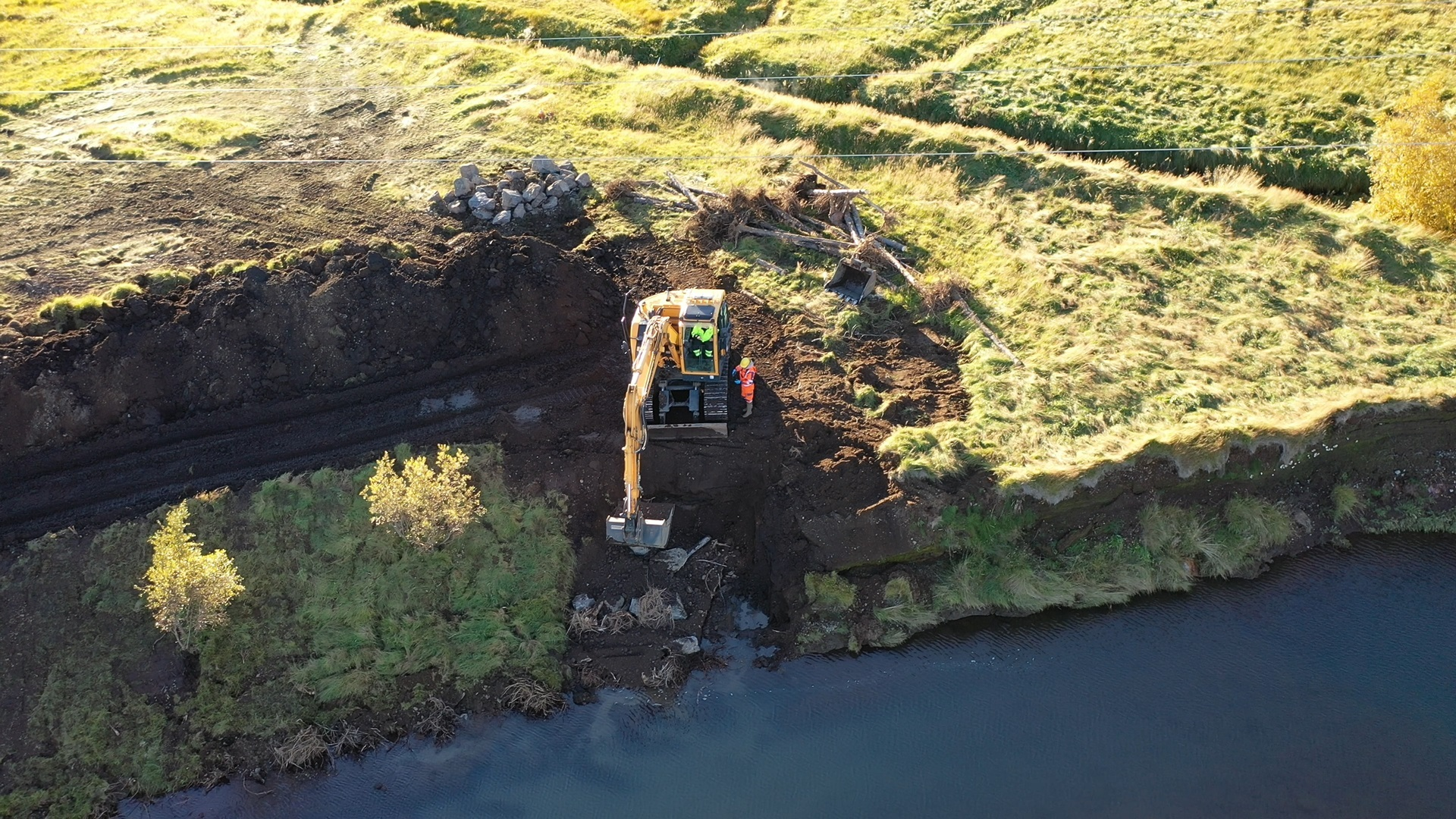 Icelandic River Restoration Training 2021